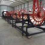 CNC শক্তিবৃদ্ধি পিল ইস্পাত Rebar খাঁচা ঢালাই মেশিন তৈরীর